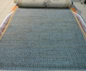 Jute-Thick-Mat-blue-Grey 1.5*2.3